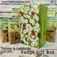 Personalised fudge gift box. 'Daisies & Ladybirds' delicious crumbly Welsh