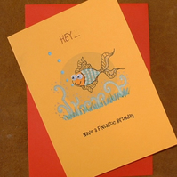 Have a Fintastic Birthday Greetings Card