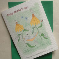 """Everyone needs a little me time"" Mother's Day Card"