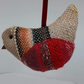 Handwoven Christmas Robin Decoration