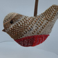 Handwoven Robin Christmas Decoration.