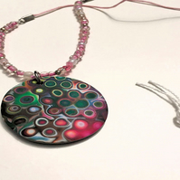 Rainbow Dots Necklace