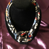 African style statement necklace