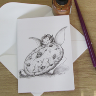 Cookie! Fairy Greeting Card