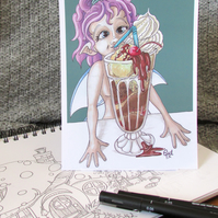 Float Fairy Postcard