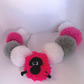Garland POM POMS Colours and Sheep Bunting Kids Decor