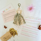 Personalised meadow fairy gift set with wildflower seeds