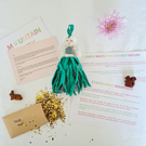 Personalised mountain fairy gift set with wildflower seeds