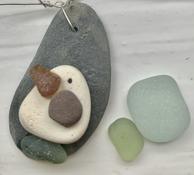 Pebble Seagull Garland