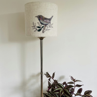 Unique one-of-a-kind Jenny Wren Lampshade