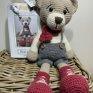 Crochet Kit - Billy Bear - 40cm - Luxury DIY Complete Kit