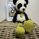 Crochet Kit - Peter Panda - 40cm - Luxury DIY Complete Kit