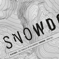 Snowdon Topographic Art Print Signature Design