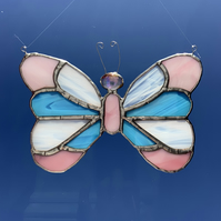 Stained Glass Butterfly Suncatcher Lightcatcher Gift