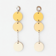 Wooden Scandi Design Earrings