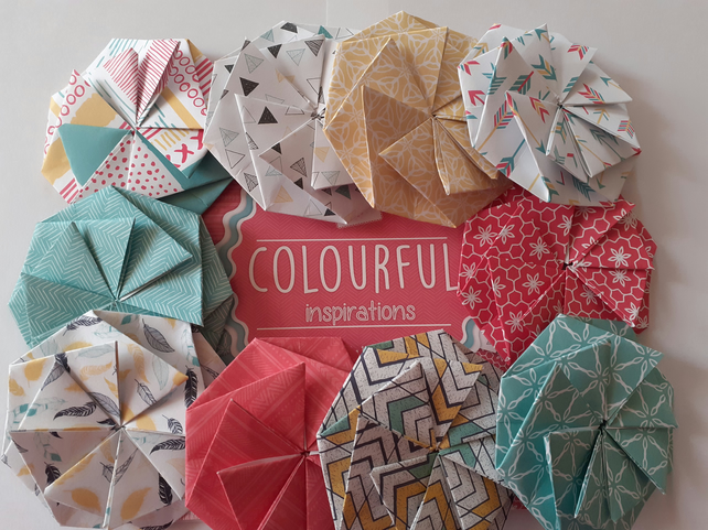 Origami Gift Bows - Colourful Inspirations Range