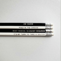 Schitts Creek Inspired Pencil Set