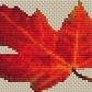 Autumn Leaf Bag Counted Cross Stitch