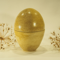 Speckled 'Fill your Own' Ceramic Easter Egg