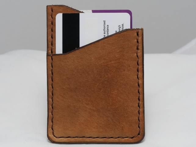 Handmade Leather Credit Card Wallet