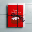 Four Designs Christmas Card Pack