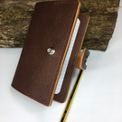 Leather note book cover