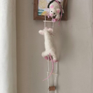 3d Mice Needle Felted Framed 'the great escape'
