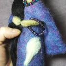 Native American Spirit Doll - Amethyst Healer