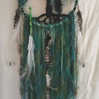 Tree of Life Dream Catcher - Beyond the Willow Bespoke OOAK