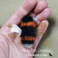 Fluffy Bumblebee Brooch Needle felted Wearable Art