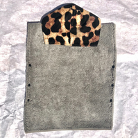 Toddler Towel Poncho - Leopard
