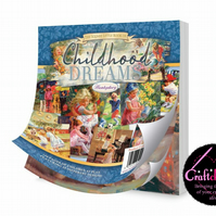 "Hunkydory, The Square Little Book Of - Childhood Dreams - 5"" x 5"" - 150gsm - 150"