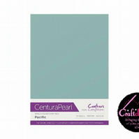 Crafter's Companion Centura Pearl - Single Colour - 10 Sheet Pack - Pacific