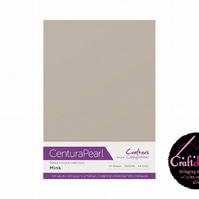 Crafter's Companion Centura Pearl - Single Colour - 10 Sheet Pack - Mink