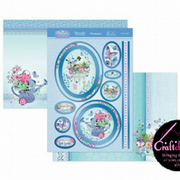 Hunkydory - Butterfly Blue - In The Garden Topper Set
