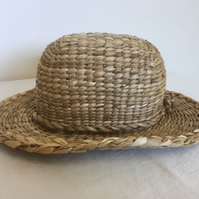 Rush Cowboy Style Hat With Domed High Crown