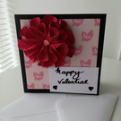 Chrysanthemum valentine card