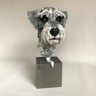 Animal Portrait - Hand sculpted commissioned bust