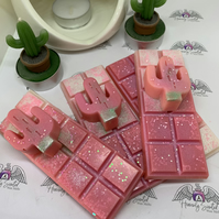 Scented Wax Melt Snap Bars Fragrance Pink Cactus