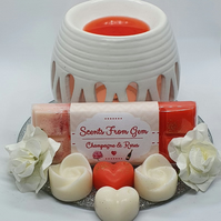 Handmade wax melt valentines gift sets 100% Soy wax