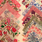 "36 Liberty Fabric Patchwork Quilting 2.5"" Squares : MULTICOLOURED Pale Tones"