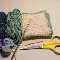 Crochet Cotton Wash Cloth