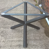 3 leg Star Table Frame for round Top