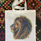 Pride Lion Original Art Tote