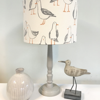 Coastal Seagulls Kids Room Lampshade