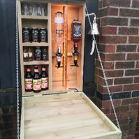 Beautiful garden bar. 100% made from new tanalised treated timber.