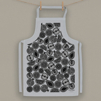 Fruit Design Cotton Apron