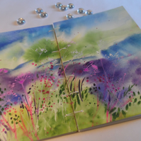 An original watercolour painting turned into a book (no. 35)