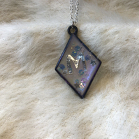 Magical galaxy M pendant