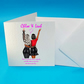 Friends Become Family Personalised Card, Birthdays, Friends, Sisters